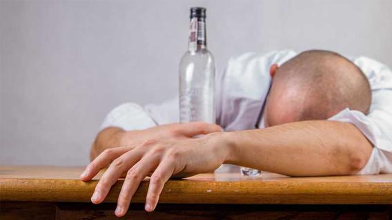intoxicação alcoólica
