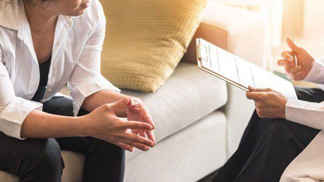 Consulta com um psiquiatra