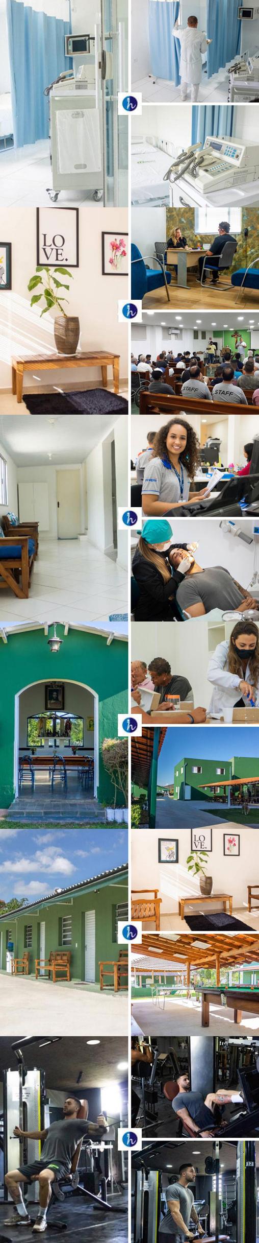 clínica de recuperação e reabilitação para dependentes químicos